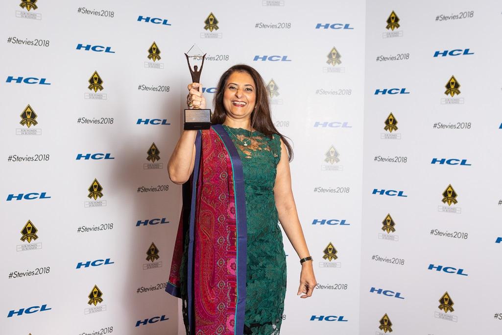 Gita Bhargava Wins Silver Lifetime Achievement Stevie® Award